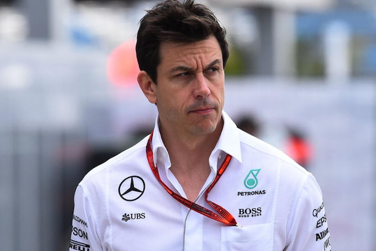 Le parole al miele del boss Mercedes Wolff nei confronti della Ferrari