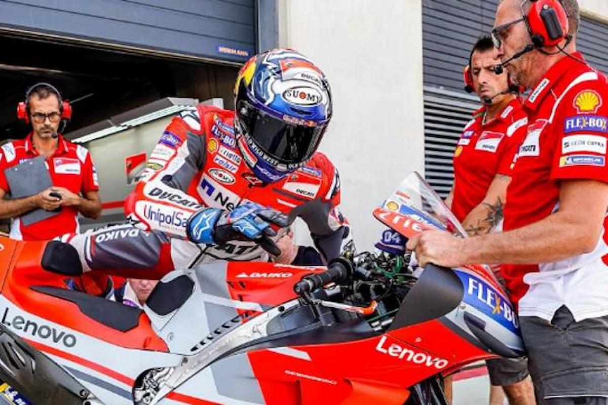 MotoGP 2018, nelle libere di Motegi è Dovizioso il più veloce ma in FP2 non tutti hanno spinto