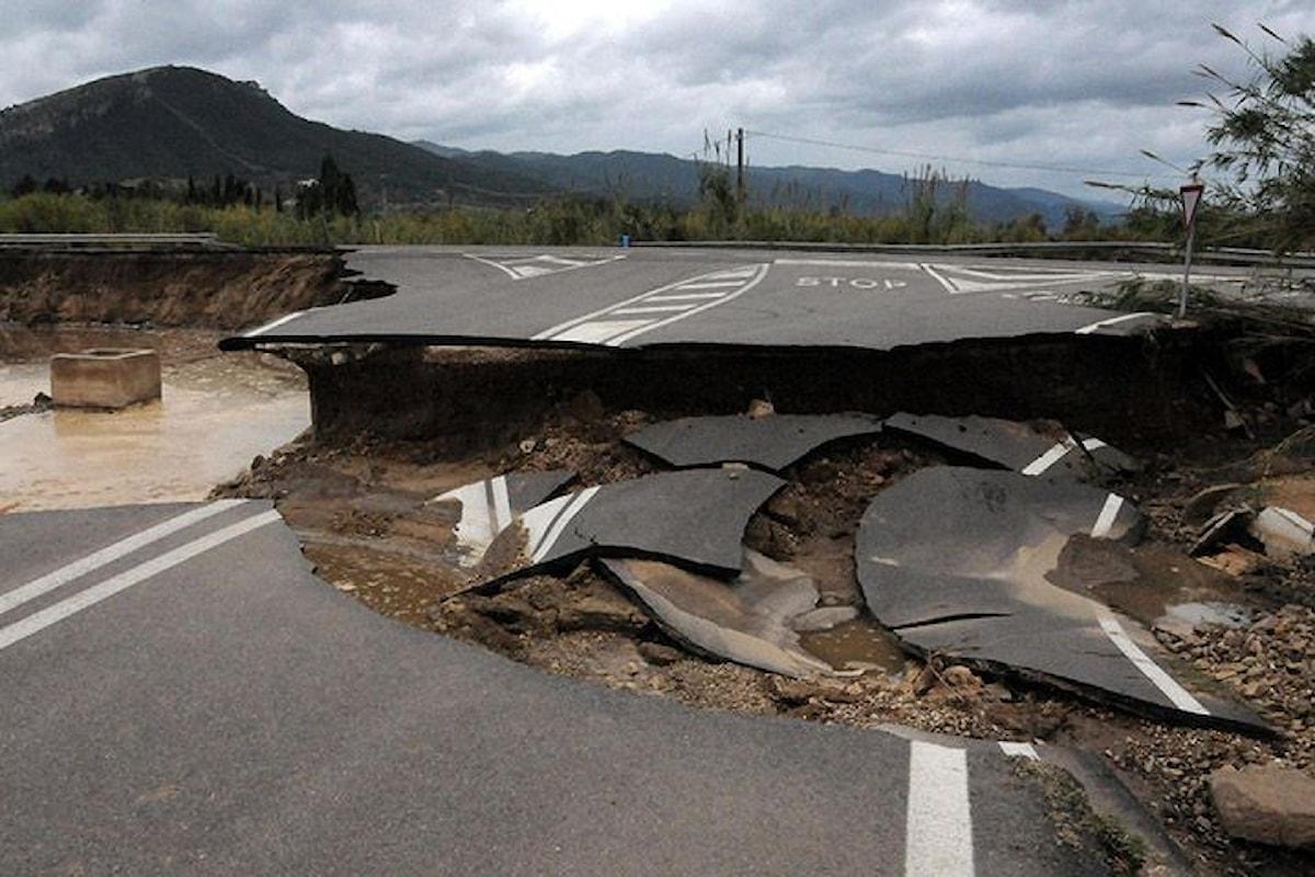 Frane e alluvioni: 1 italiano su 9 a rischio
