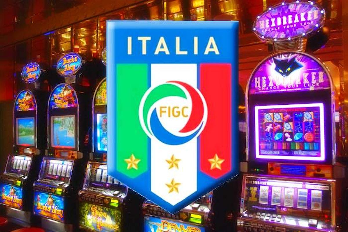 Le nazionali italiane di calcio saranno sponsorizzate da una società di scommesse online