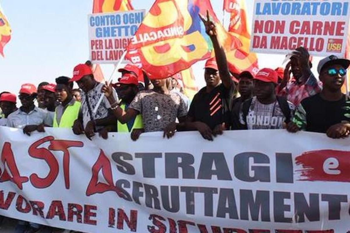 Foggia, sciopero e manifestazioni dopo la morte dei 16 braccianti