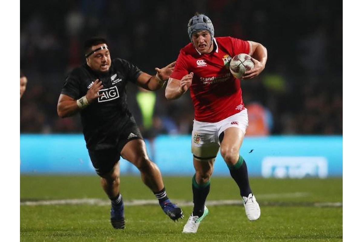 Rugby, Maori All Blacks ridimensionati! I Lions vincono la loro terza gara del tour