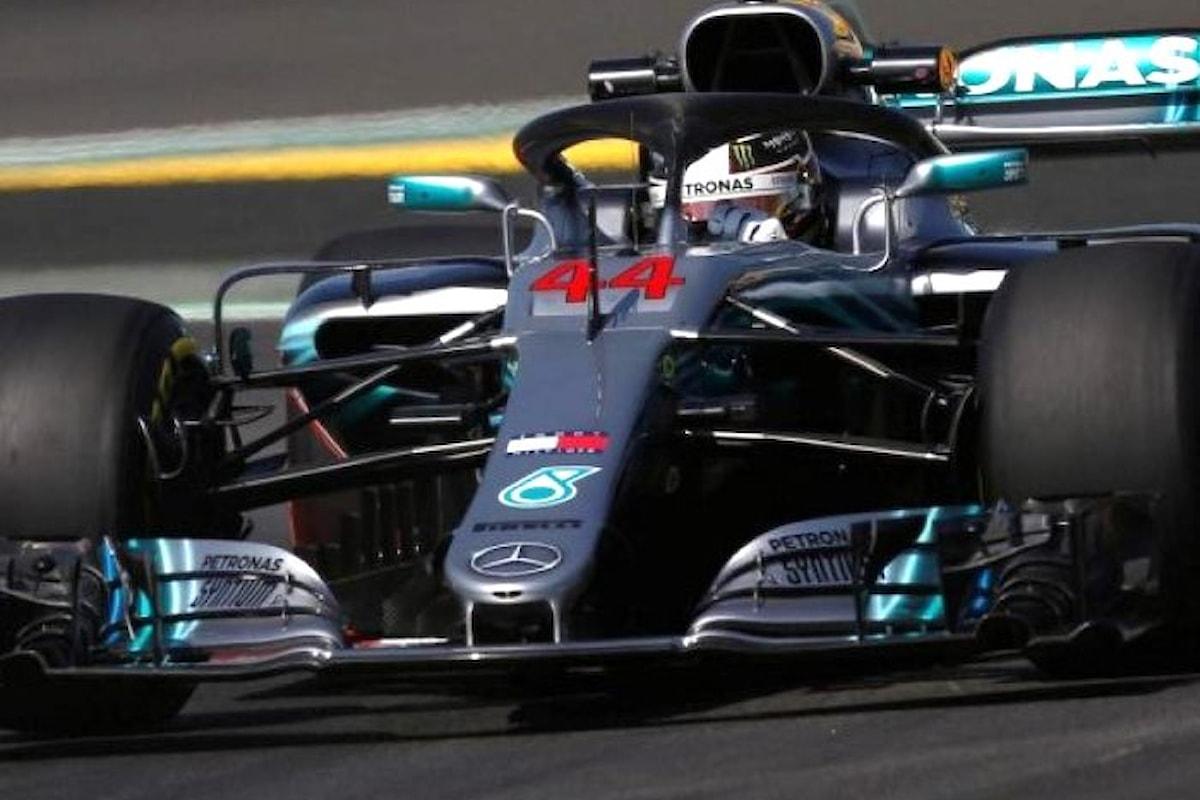 F1 Gran Premio di Spagna 2018, in pole Hamilton, Vettel terzo