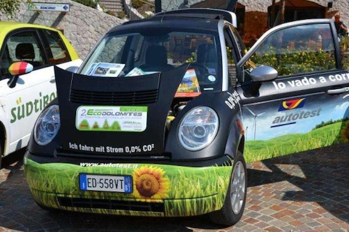 Con vetture a zero emissioni sulle perle delle Dolomiti...