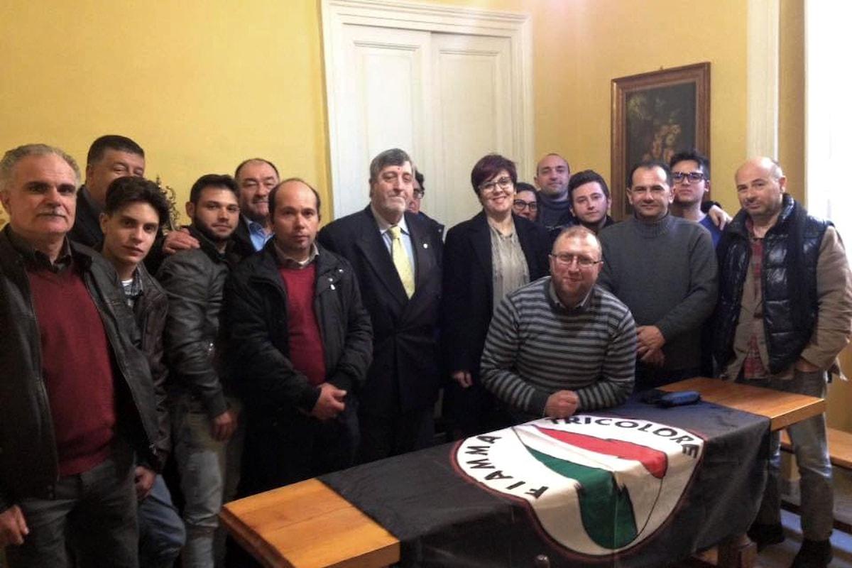 Il SN del Movimento Sociale Fiamma Tricolore Carelli ha concluso la sua visita in Sicilia