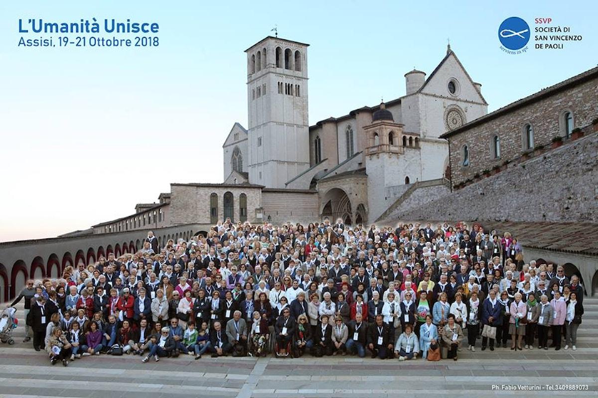 La Società di San Vincenzo De Paoli coglie i primi frutti da Assisi