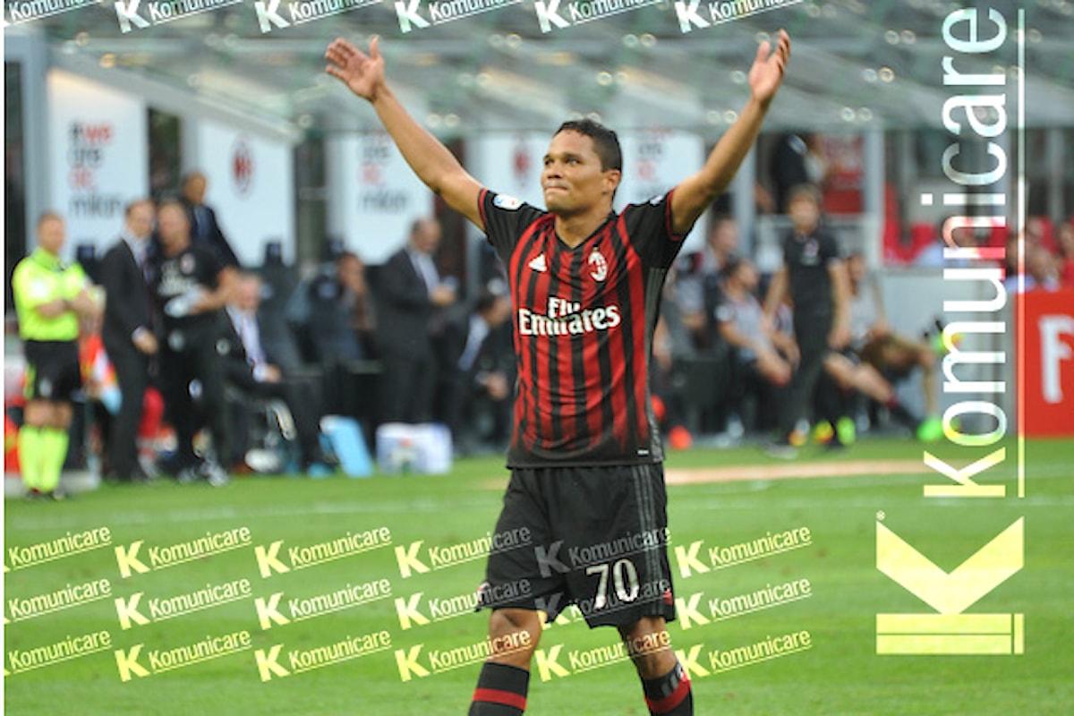 Milan, l'agente di Bacca difende il calciatore per le dichiarazioni rilasciate dal suo assistito sui rossoneri