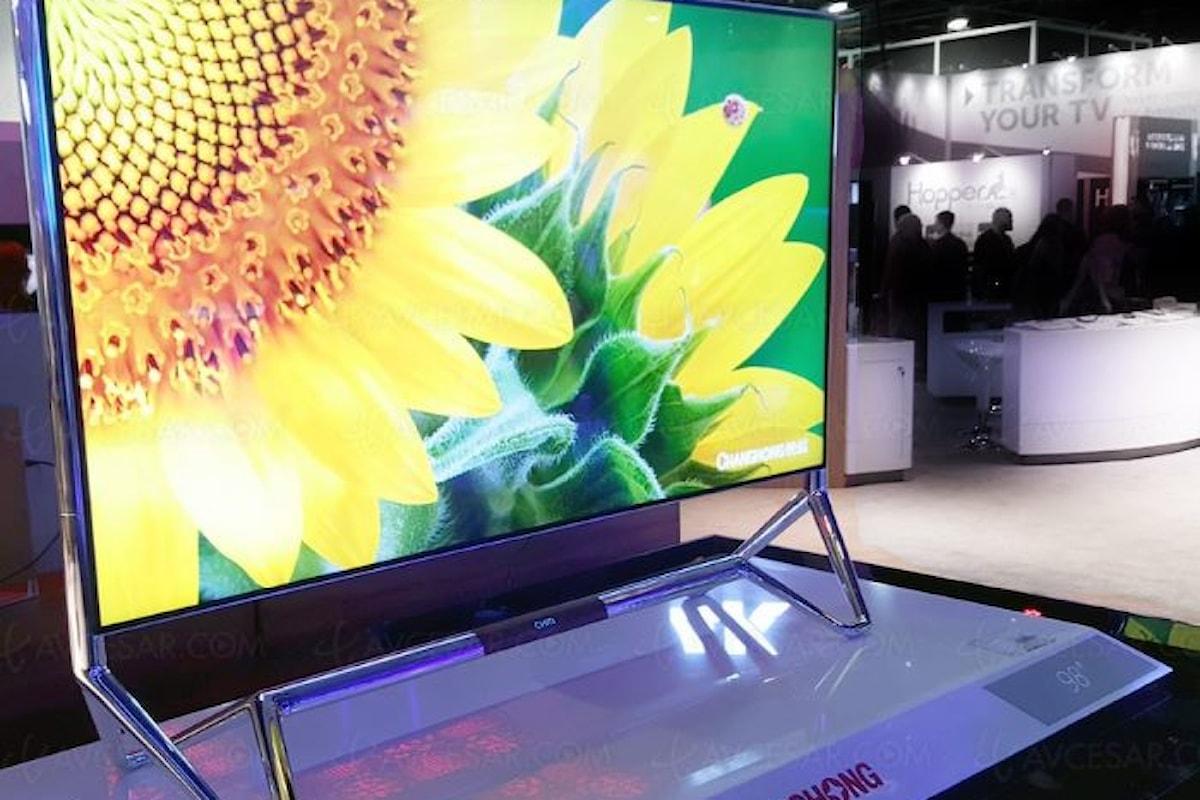 Changhong allarga la famiglia delle tv a 8K
