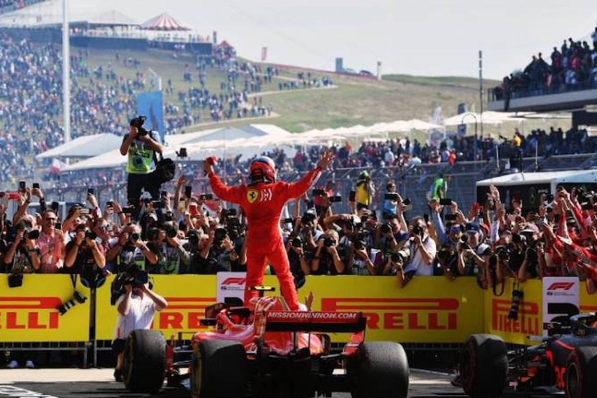Formula 1, in America Raikkonen torna a vincere mentre Hamilton deve rimandare la festa in Messico