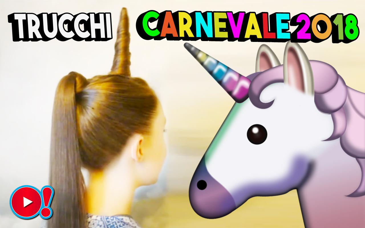 Carnevale 2018: 5 trucchi belli ed originali per stupire gli amici. Scegli quello che fa per te!