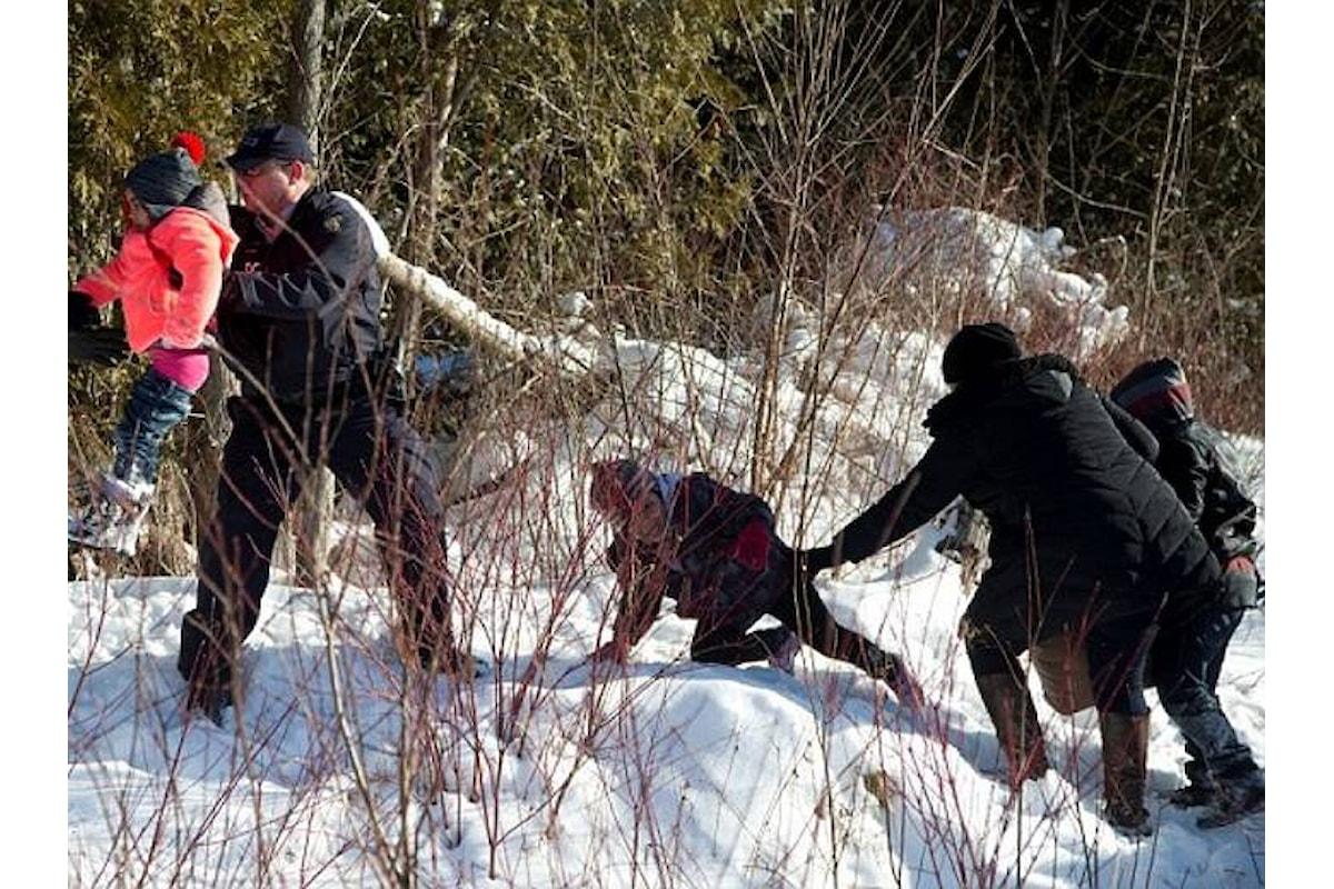 Se anche il Canada finisce per esser travolto dai migranti...
