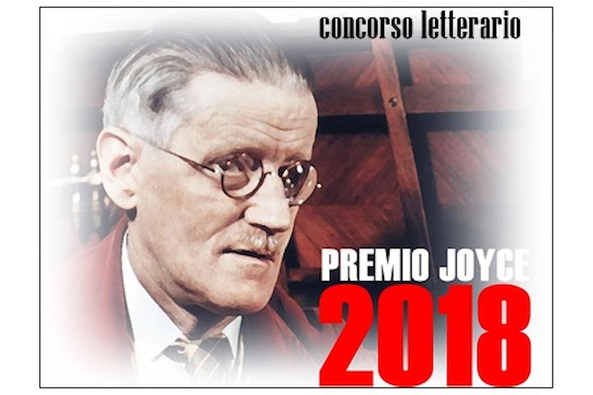 Avviato il concorso letterario Premio Joyce 2018