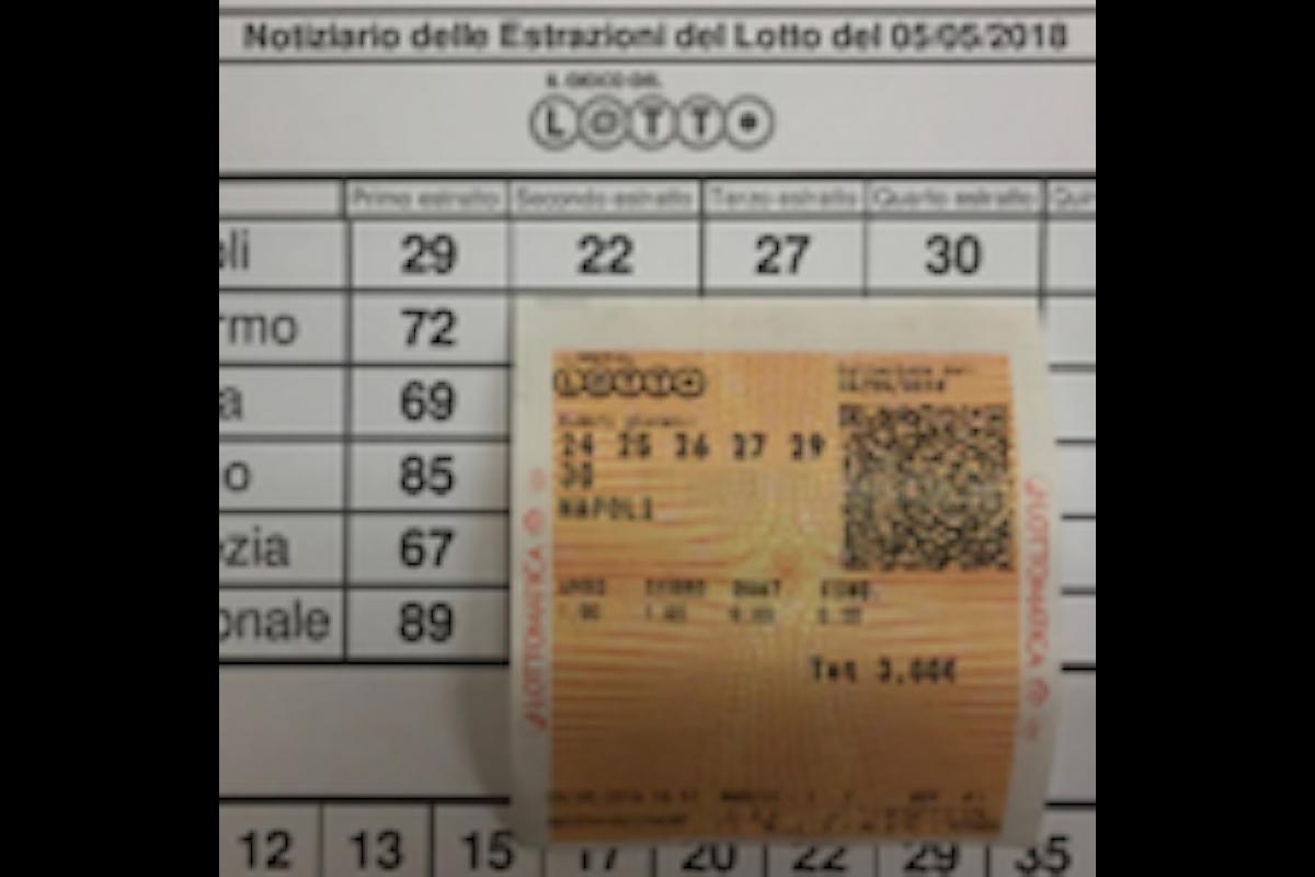 San Pietro Avellana, la quaterna del lotto sulla ruota di Napoli ricevuta in sogno