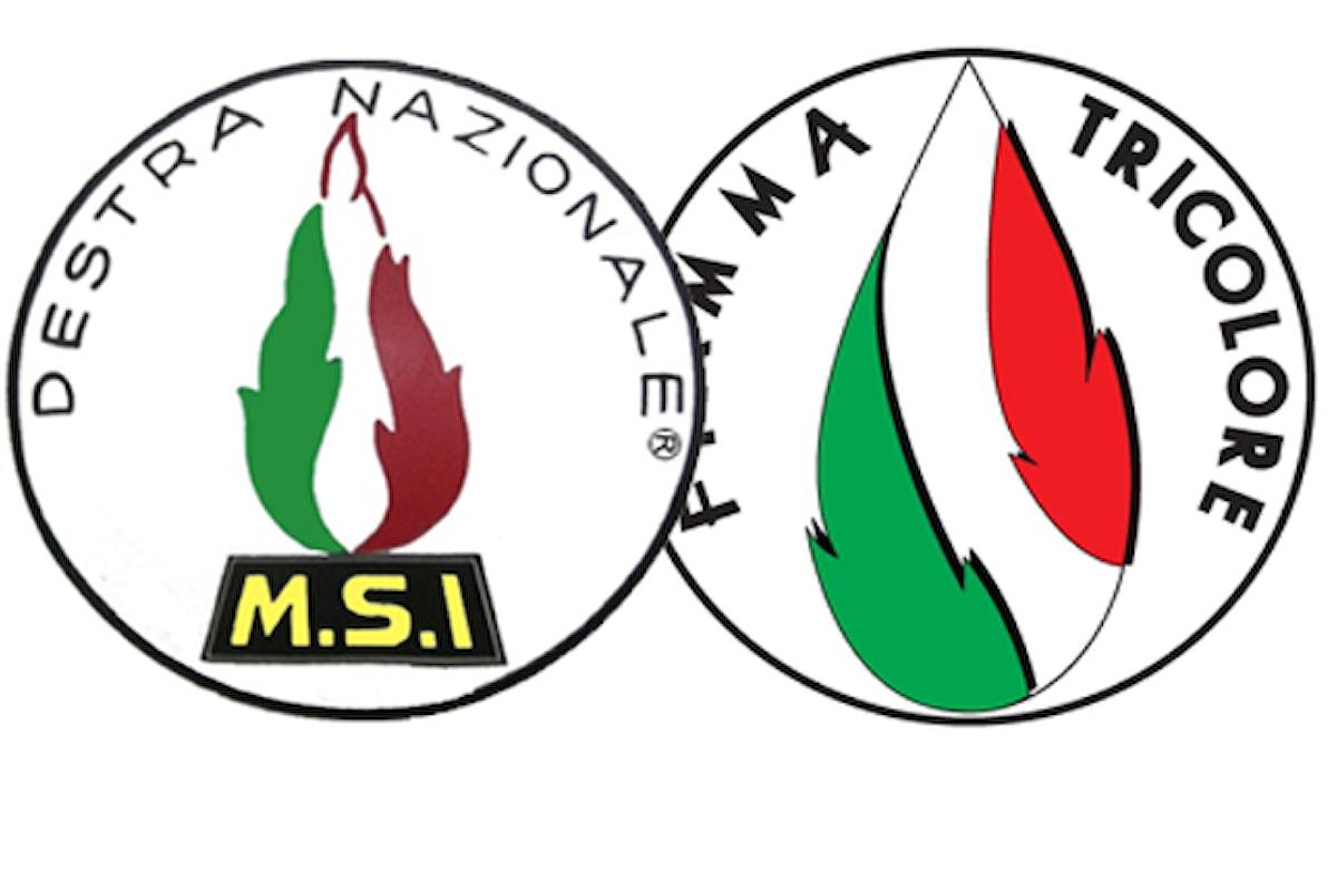 Le fiamme di Movimento Sociale Italiano e Fiamma Tricolore si uniscono anche a Caserta