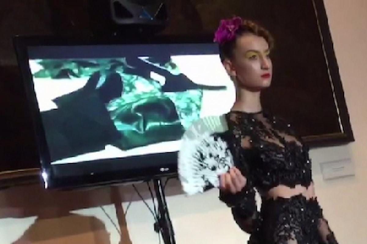 L'eleganza della Moda Svizzera all'Ambasciata di Roma con Tania Caruncho e Manuela Soldati. Special Guest Iuliana Mihai.
