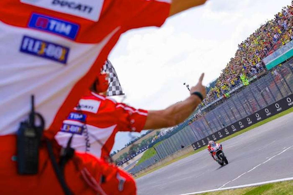 MotoGp, è Dovizioso su Ducati ad aggiudicarsi il Gran Premio del Mugello 2017