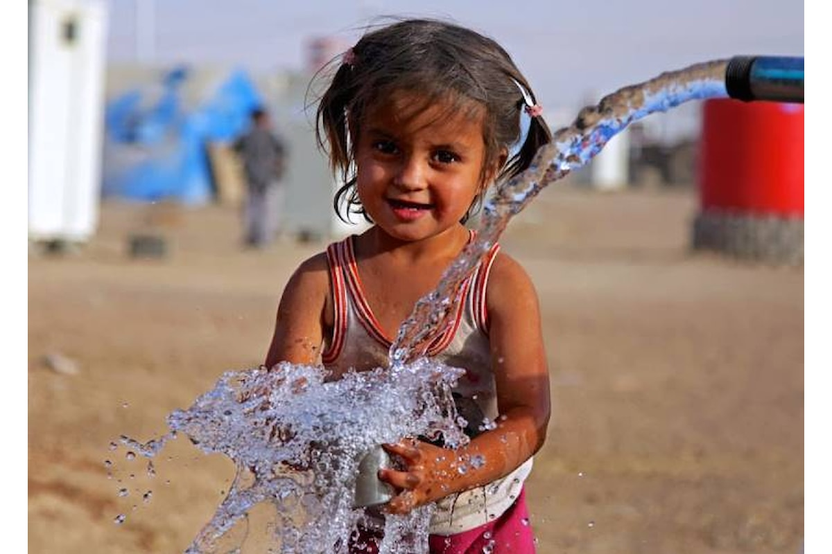 22 marzo giornata mondiale dell'acqua per ricordarci che non tutti possono accedere a questo bene primario