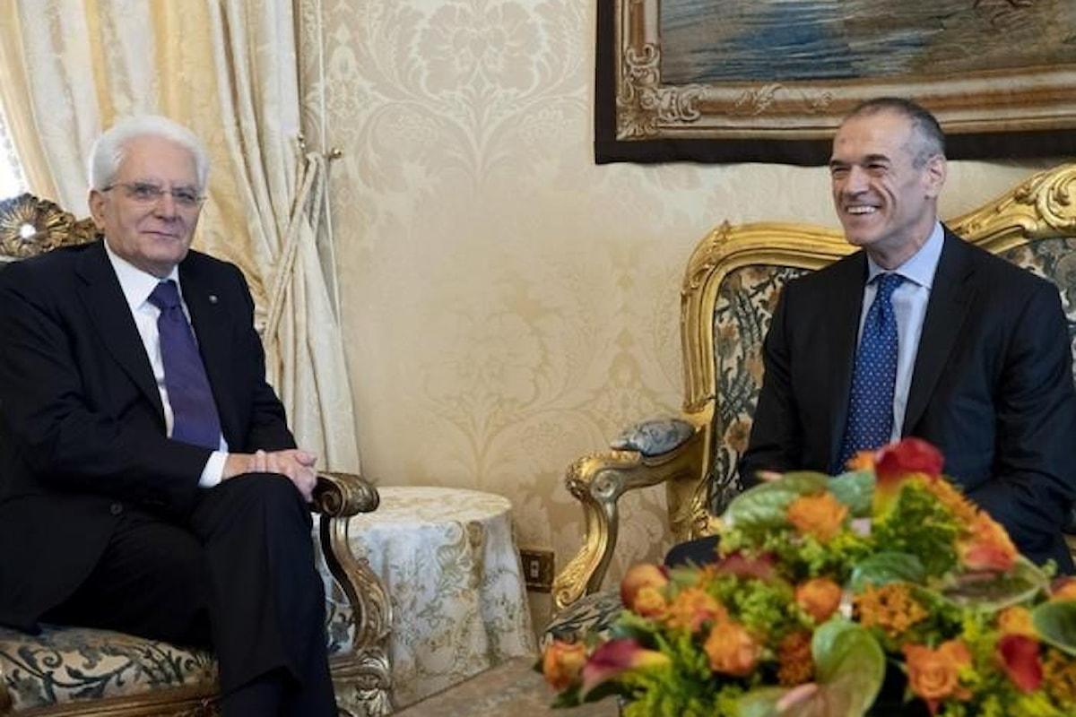 La commedia continua... Mattarella affida a Cottarelli l'incarico per formare il governo