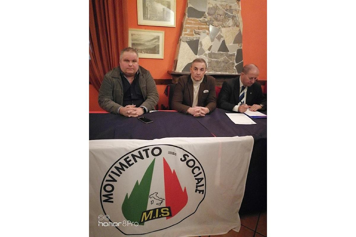 Il Movimento Idea Sociale continua a crescere in Campania. Falché: Coinvolgimento, partecipazione, coraggio.