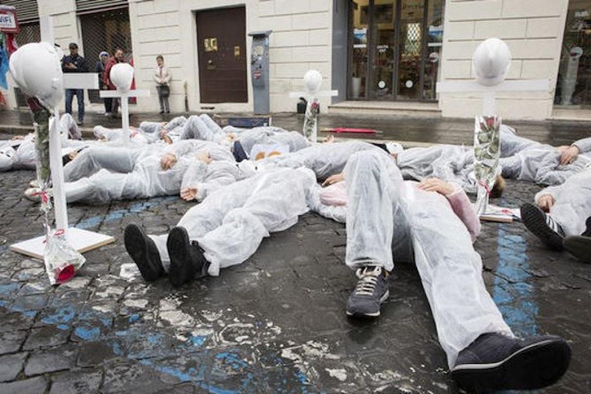 In Italia si continua a morire di lavoro