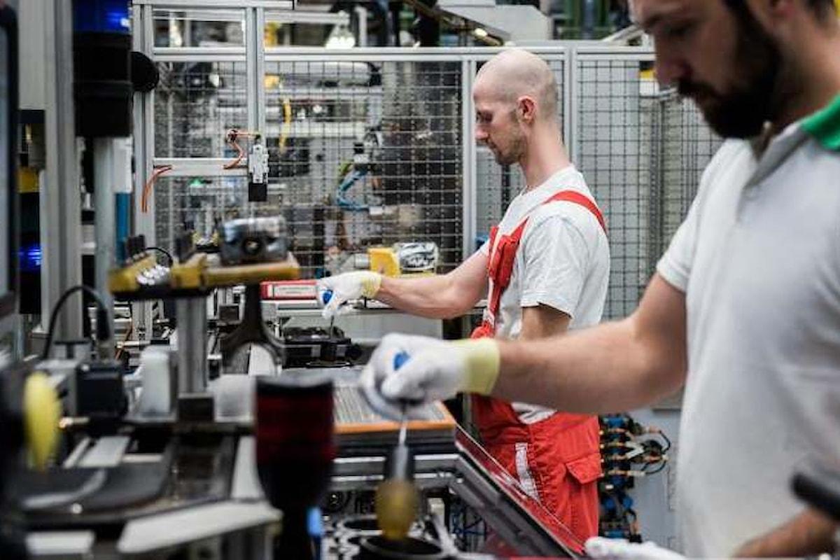 Istat, in calo la produzione industriale a febbraio 2018