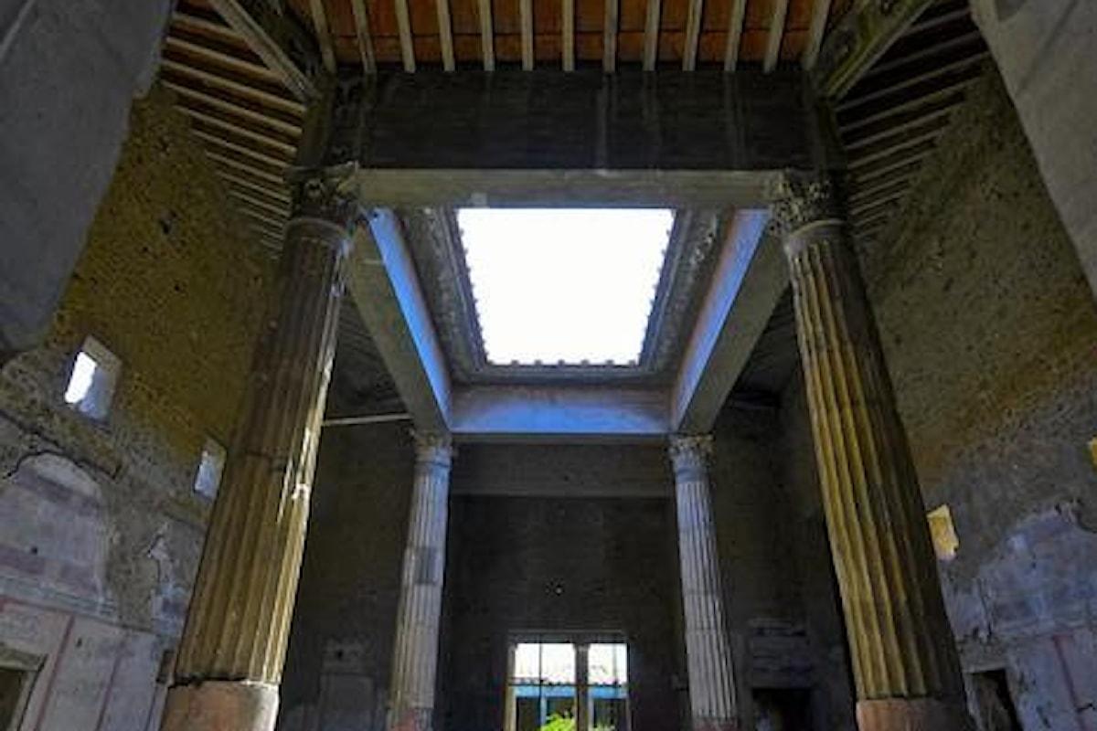 Il Vicolo dei Balconi, l'ultima colorata scoperta a Pompei