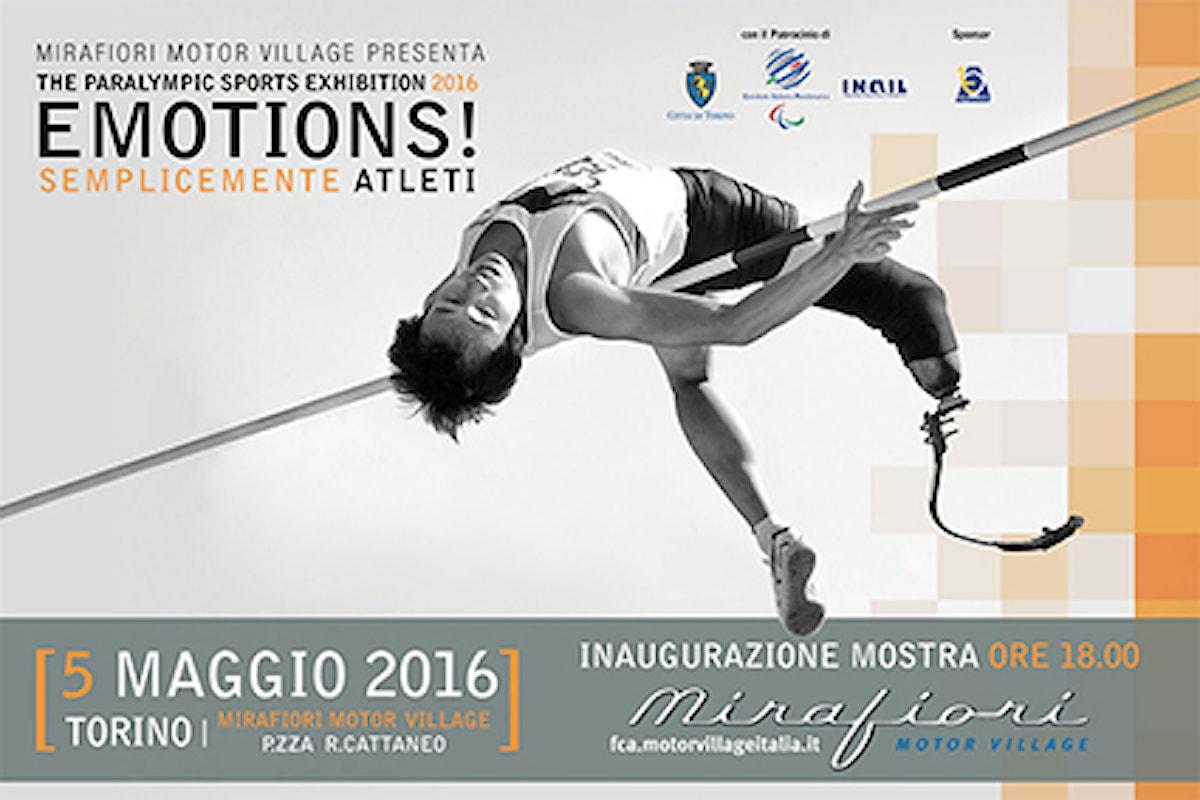 Emotions! Semplicemente Atleti alla Mirafiori Galerie di Torino