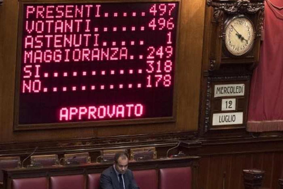 Il decreto banche venete ottiene il primo sì alla Camera e passa al Senato per l'approvazione definitiva