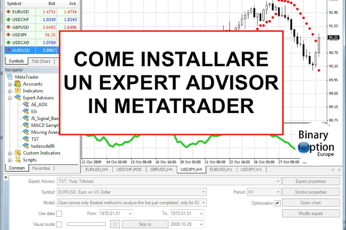 Guida: come installare un Expert Advisor per Metatrader e scegliere i migliori
