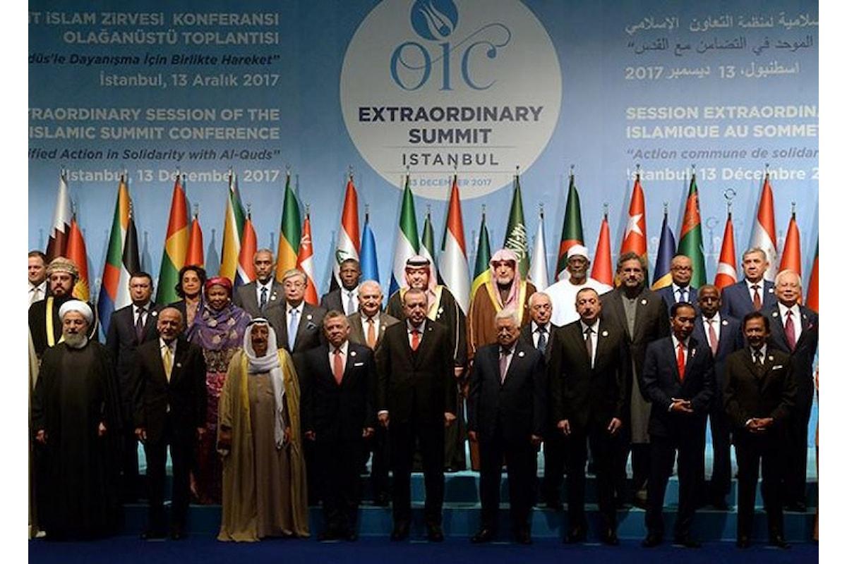 Vertice OIC di Istanbul: il Consiglio di Sicurezza delle Nazioni Unite sarà chiamato a decidere sulla scelta di Trump
