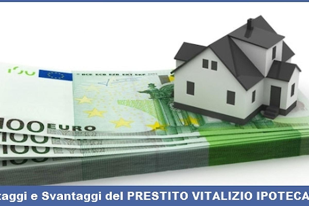 Prestito Vitalizio Ipotecario per gli Over60: conviene?