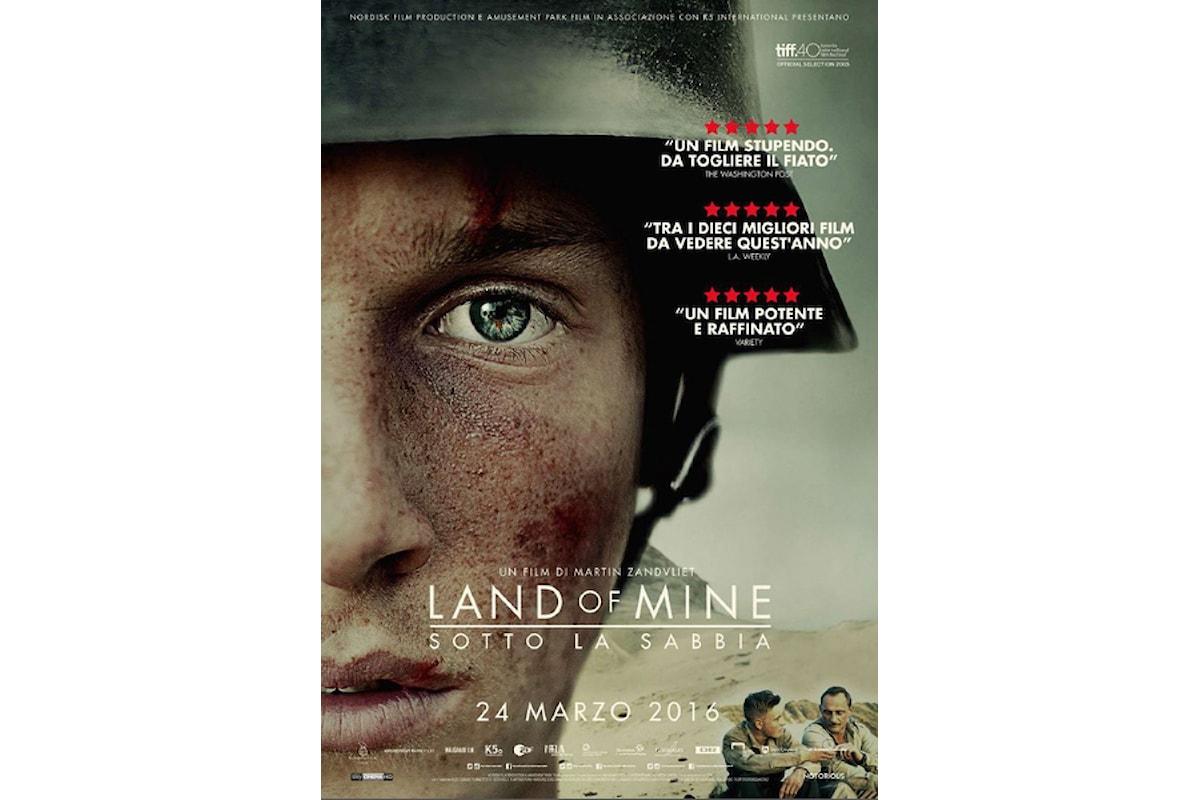 Recensione del film LAND OF MINE, una storia vera