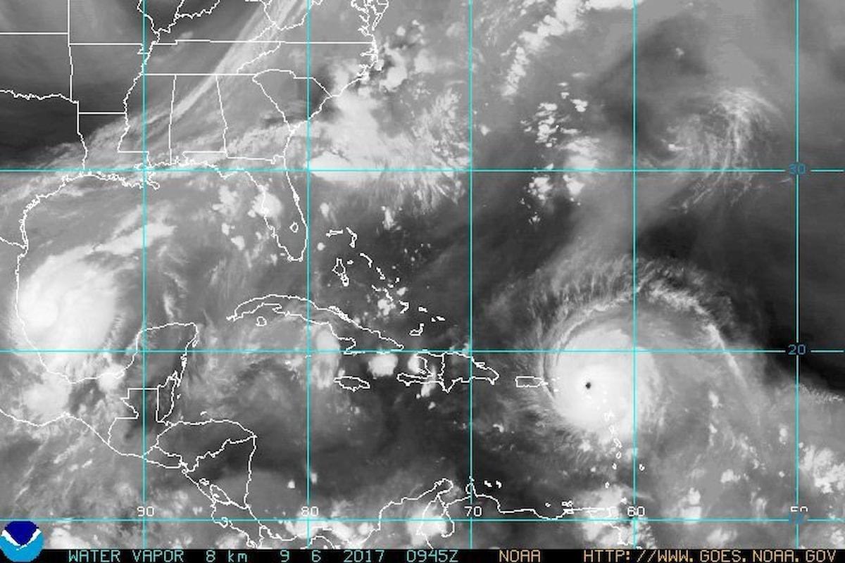 Irma inzia dai Caraibi la sua marcia distruttiva verso la Florida