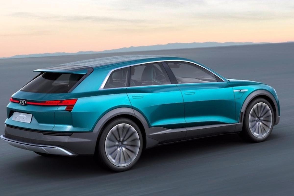 Ecco il SUV elettrico Audi che farà concorrenza a Tesla Model X