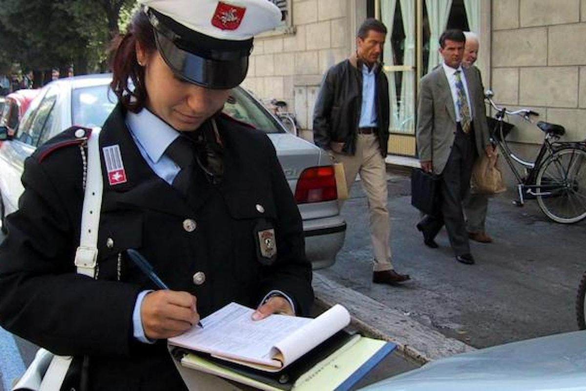 A Roma premiati i vigili che faranno più multe