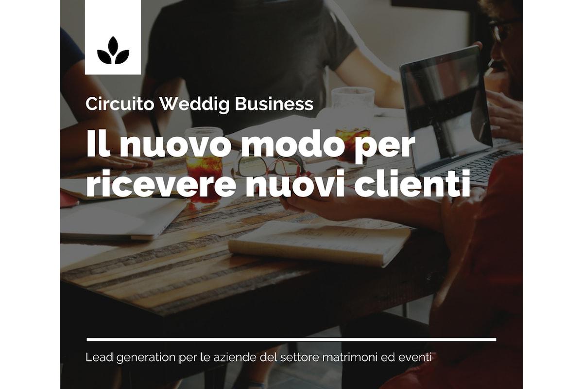 Il circuito Wedding Business