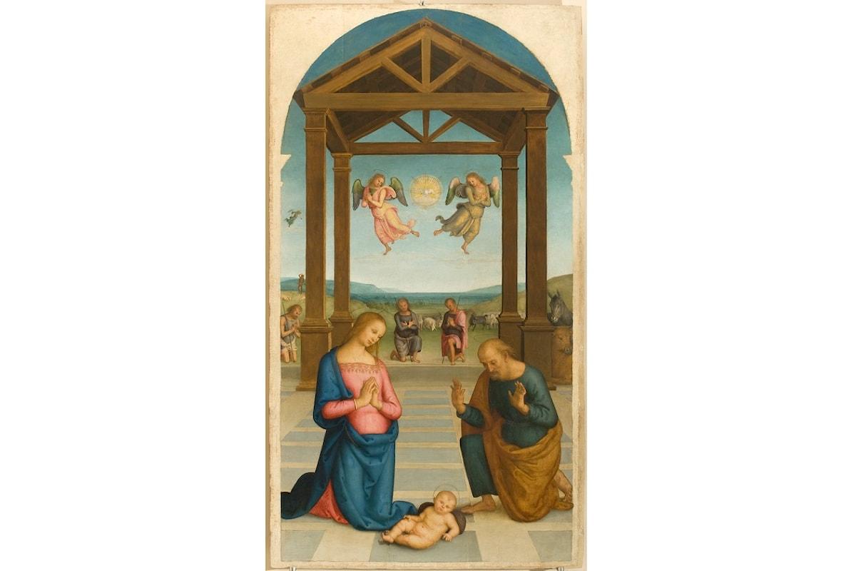 Adorazione dei Pastori: ultimi giorni per ammirare il capolavoro del Perugino al Museo Diocesano a Milano