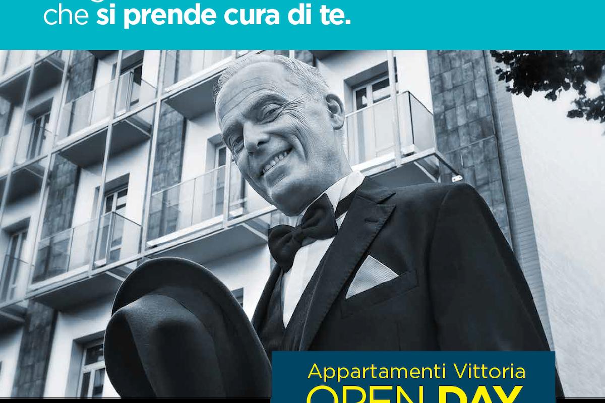 Open Day Residenza Vittoria: l'8 aprile vieni a scoprire i nuovi appartamenti multi servizio