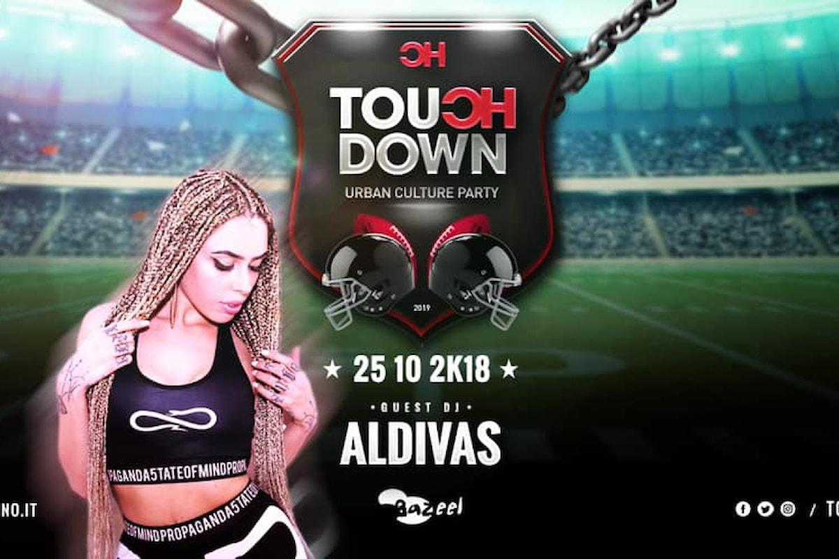 Aldivas & Touch Down fanno scatenare il Bazeel a Pisa anche il 25 ottobre
