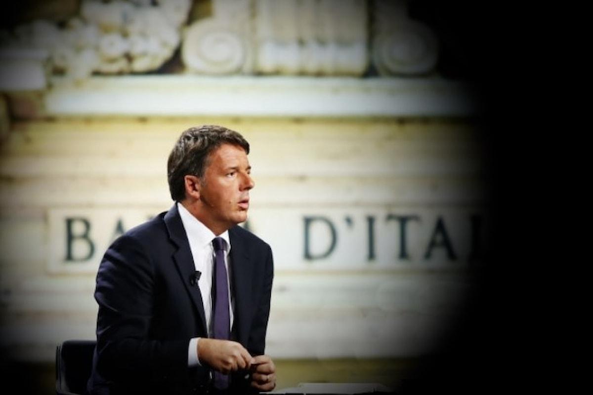 Un Renzi confuso su Bankitalia se la prende pure con la Boldrini