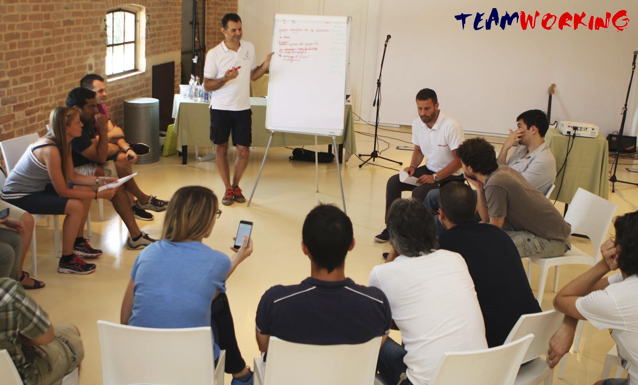 Team Building di 2 giorni per un'azienda informatica