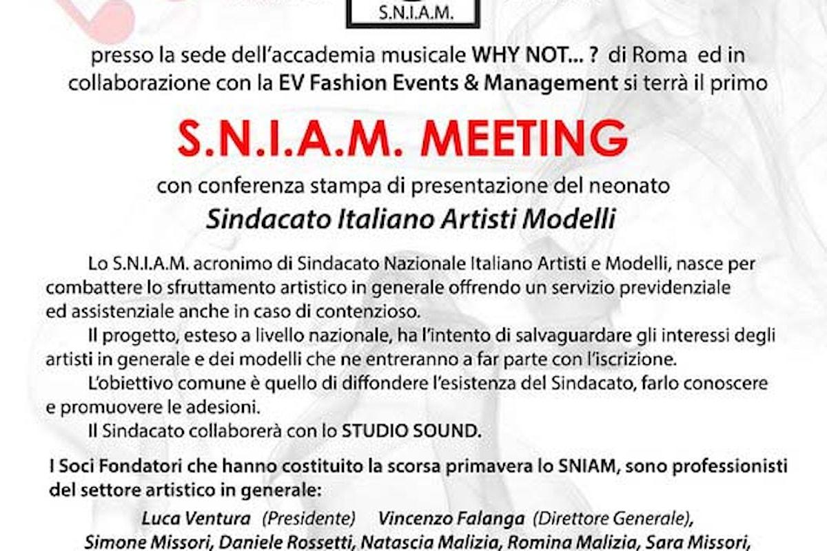 Sniam Meeting Roma il 16 dicembre