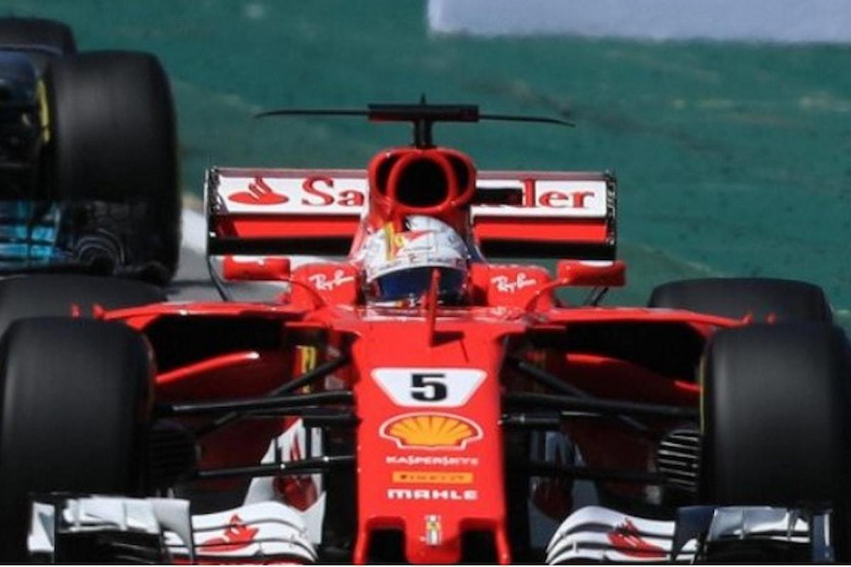 La triste vittoria di Vettel nel GP del Brasile di Formula 1