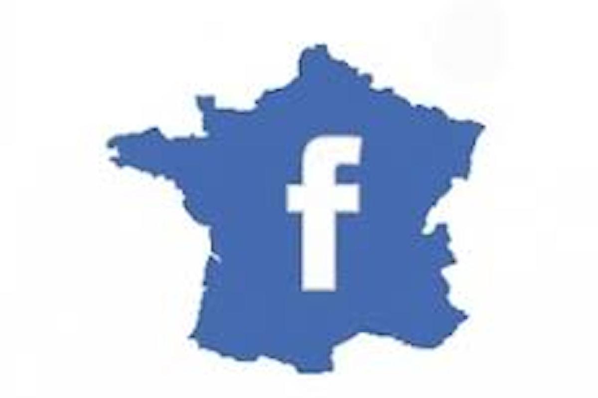 Guai in Francia per Facebook