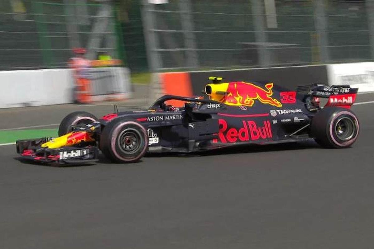Formula 1, le libere del GP del Messico hanno indicato la Red Bull come la vettura da battere