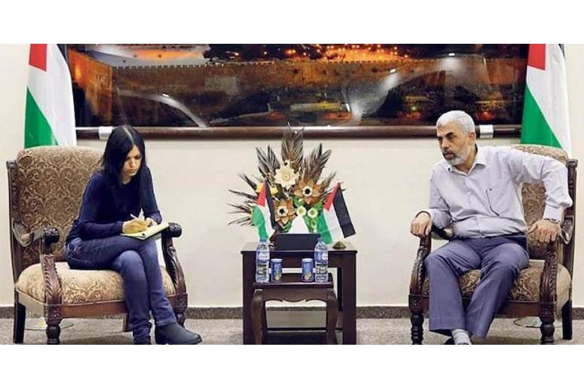 Hamas smentisce di aver saputo che l'intervista a Repubblica sarebbe stata pubblicata anche su un giornale israeliano