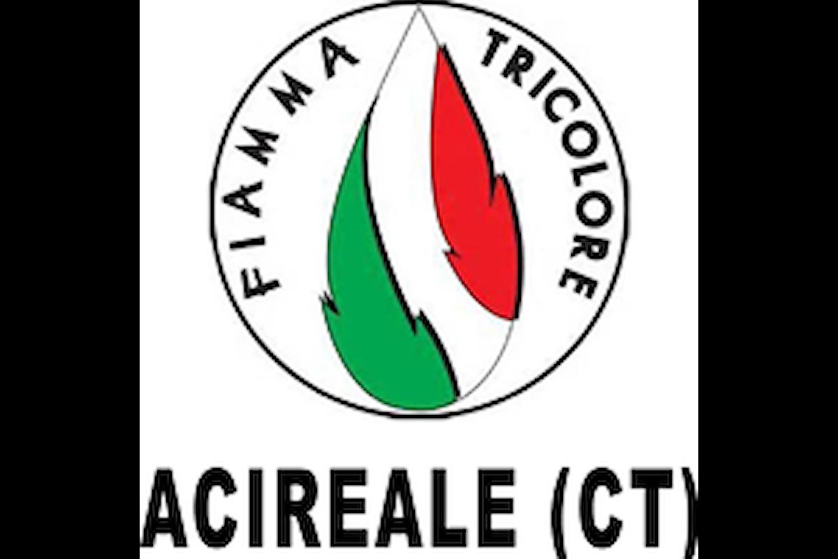 Fiamma Tricolore Acireale (CT) sulla chiusura del centro IPAB