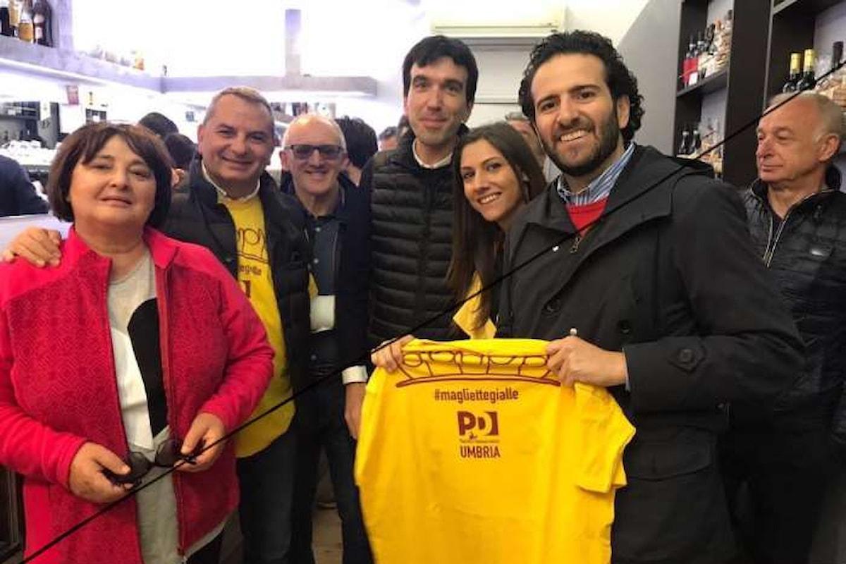 Sapevate che le magliette gialle di Renzi sono andate a sentire i terremotati per chiedergli di che cosa avessero bisogno?