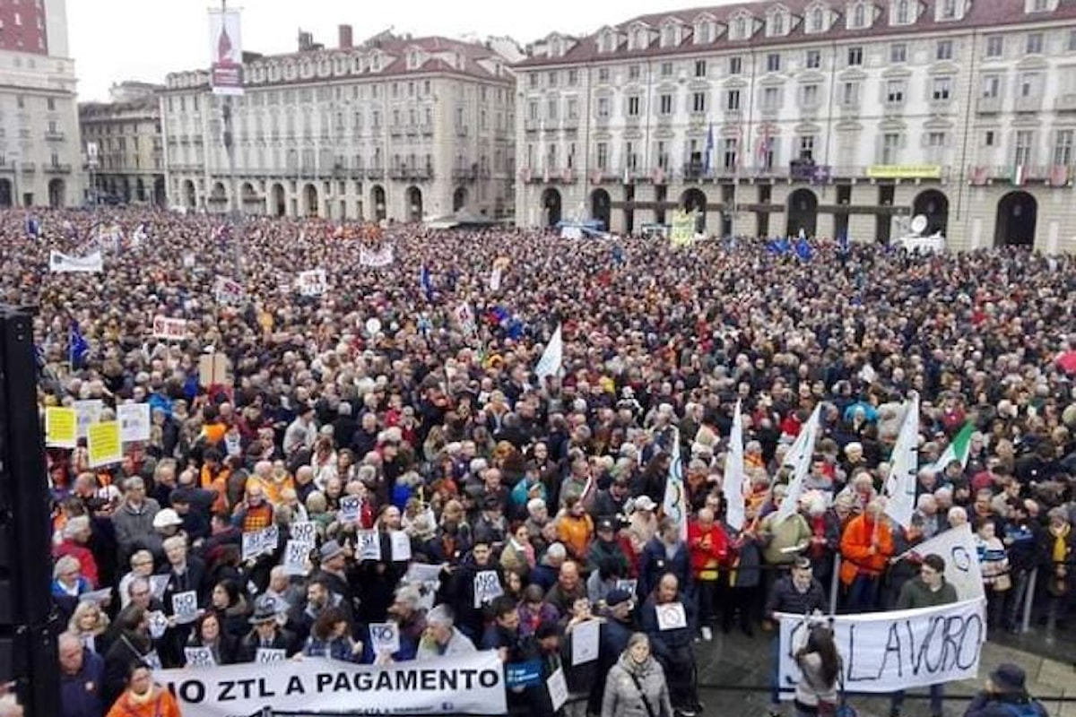 A Torino in 25mila dicono Sì alla Tav
