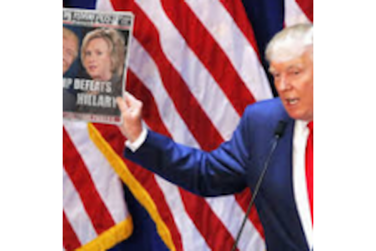 Elezioni USA 2016, Hillary Clinton vs. Donald Trump: ecco i pronostici dei bookmaker